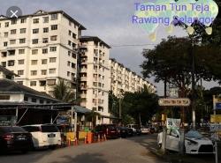 Apartment Cempaka, Taman Tun Teja, Rawang, Selangor
