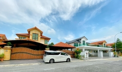 END LOT Double Storey Bungalow Taman Aman Perdana Klang