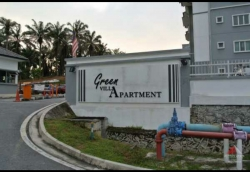 Ground Floor CORNER Freehold Apartment Green Villa Sg Tangkas UKM Bangi