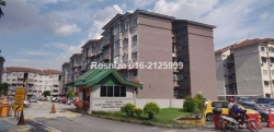 Apartment Wira 3 Taman Tun Perak, Cheras for Sale