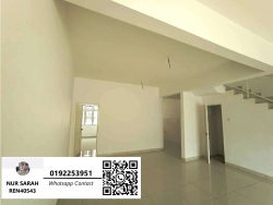 FOR SALE: DOUBLE STOREY TERRACE, TAMAN DATO DEMANG